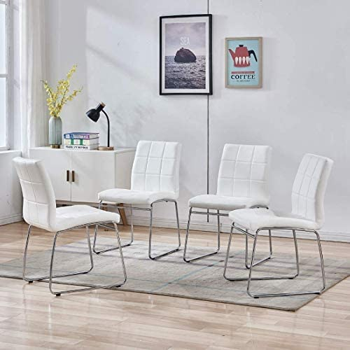 Modern Dining Room Chairs Set of 4,Kitchen Chairs