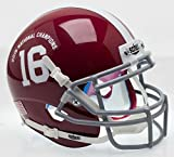 Alabama Crimson Tide Special 2015 FBS NCAA Schutt Authentic Mini Helmet