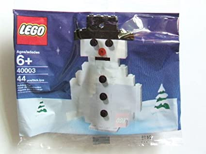 New LEGO 2015 Christmas Limited Edition Winter Fun 107 Pcs Set 40124 Gift