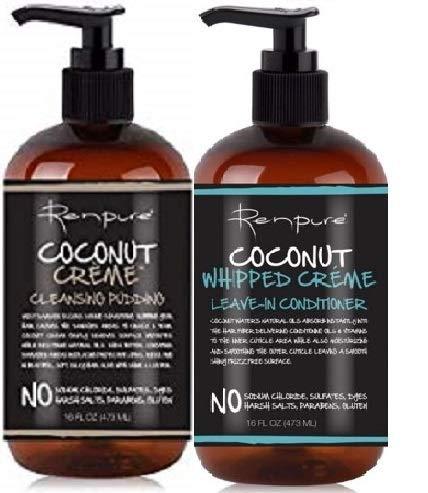 Renpure Coconut Creme Care (2 PCS - PUDDING&LVIN-CONDITIONER) by RENPURE