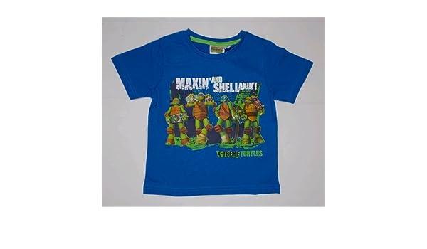 Camiseta camiseta Tortugas Ninja Disney verano niño 3/8 años ...