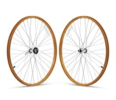 Customize your 26-inch, single-speed Firmstrong Urban Man or Urban Lady Beach Cruiser bicycle with this painted aluminum front-and-rear wheelset. The wheelset includes 26 x 1.75-Inch front and rear alloy rims, spokes, and hubs. Color match or...