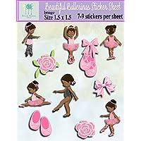 Beautiful Ballerina Scrapbook Sticker Pack