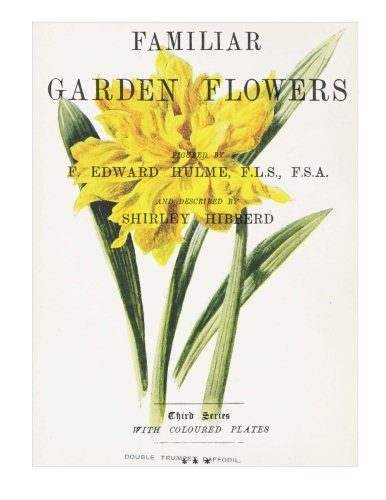 Familiar Garden Flowers: Double Trumpet Daffodil: Decorative Notebook+Journal (8.5