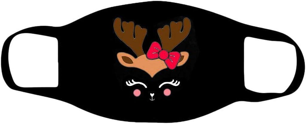 Marxways 1//5 St/ück Weihnachten 3-lagiger Eisseide Baumwolle Mundschutz,Weich Atmungsaktive Waschbar Wiederverwendbar Staubdicht mundschutz Mundbedeckung f/ür Damen und Herren