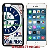 Mariners Seat. Baseball New Black Apple iPhone 6S, 6 Case By Mr Case