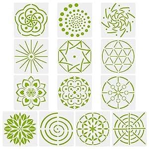 Plantillas De Dibujo De Mandala Para Pintar En Madera Aerógrafo