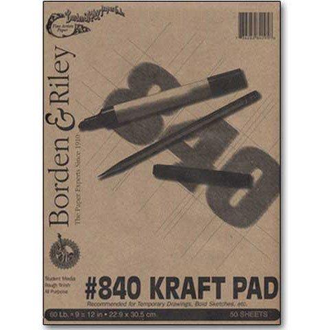 Borden & Riley #840 Kraft Pad 18 x 24