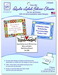 50 Nifty Iron-On Quilt Labels (Leisure Arts #3466): Kooler Design ... : iron on quilt labels - Adamdwight.com