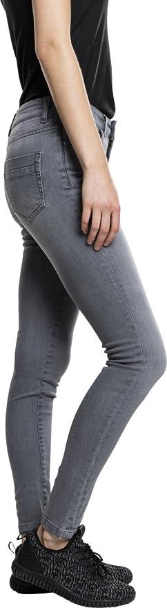 Urban Classics Ladies Ripped Denim Pants Pantalon Femmes darkblue tb1362-00800 Jeans
