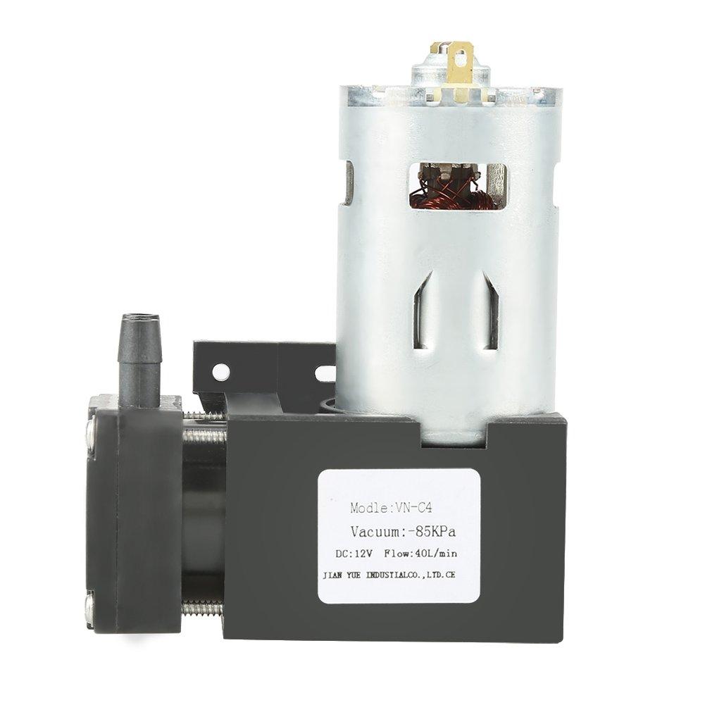 OKBY Vacuum Pump - 1pc DC12V 42W Mini Small Oilless Vacuum Pump -85KPa Flow 40L/min by OKBY (Image #3)