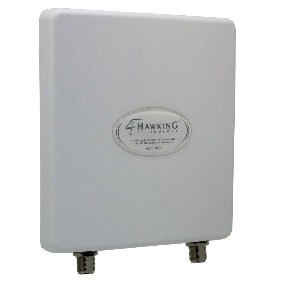 Hawking Technology Wireless-AC Outdoor Directional Dual-Band 12dBi MiMo Antenna (HOA12DP)