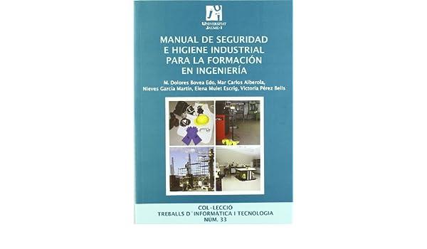 Manual de seguridad e higiene industrial para la formación en ...