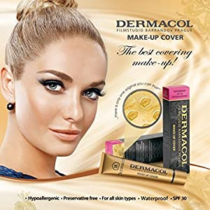 Dermacol Make-up Cover - Waterproof Hypoallergenic Foundation 30g 100% Original Guaranteed from Authorized Stockists (223)