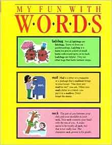 A to z vocabulary book