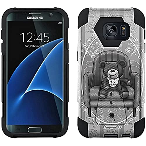 Samsung Galaxy S7 Edge Hybrid Case Scary Stitched Doll 2 Piece Style Silicone Case Cover with Stand for Samsung Galaxy S7 Edge Sales