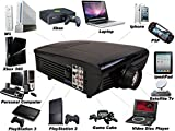 New Hd Home Theater Multimedia Lcd Projector 1080-hdmis - Best Reviews Guide