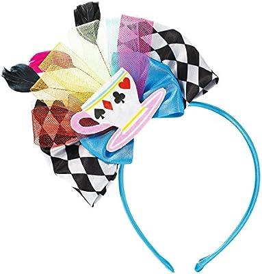 Alice in Wonderland Mad Hatter Tea Party Cup Headband Fancy Dress ... e8bddf213b4