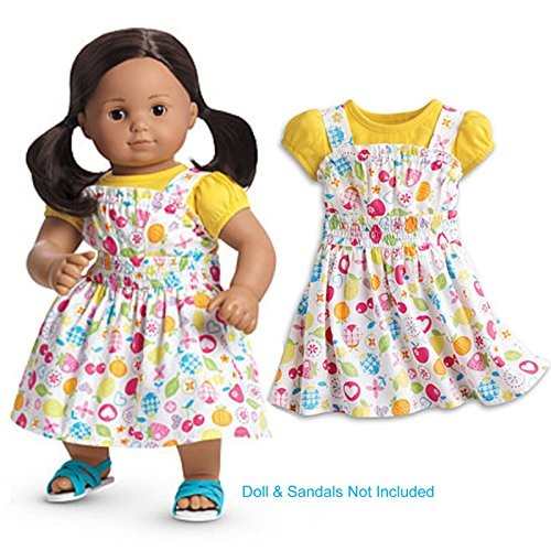 American Girl Fresh Picked Sundress and Top for Dolls Bitty Twins or Bitty Babies
