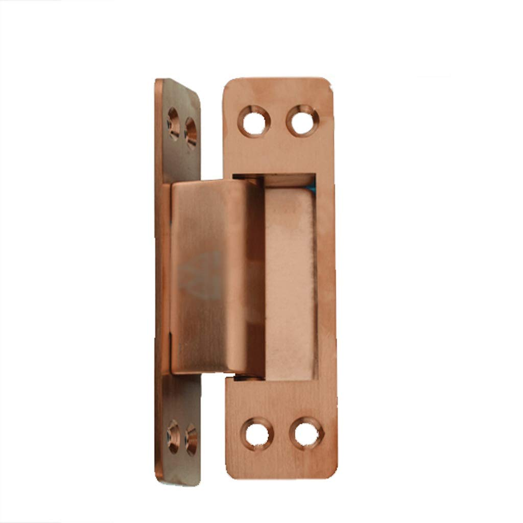 LEZDPP Invisible Hinge Bedroom Wooden Door Hidden Hinged Door 304 Stainless Steel Thickened 180 Degree Folding Cross Hinge (Color : A, Size : 2pcs) by LEZDPP