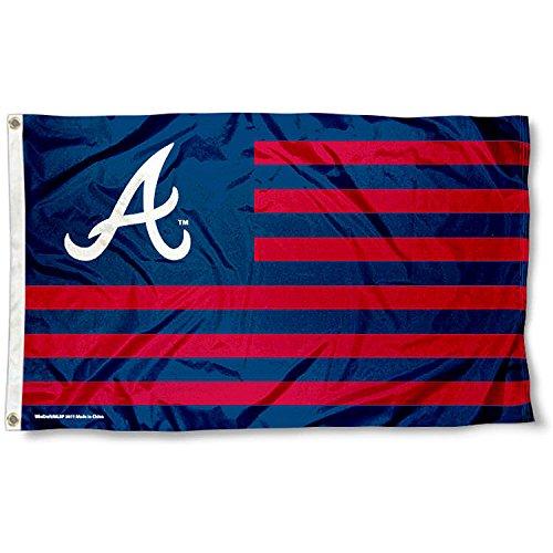 Atlanta Braves Flag (MLB Atlanta Braves Nation Flag 3x5 Banner)