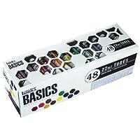 Liquitex BASICS Juego de tubo de pintura acrílica de 48 piezas