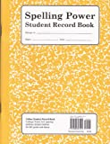 Spelling Power Student Record Book: Yellow
