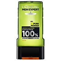 L'Oreal Men Expert Pure Power Lemon Duschgel, 2x300 ml