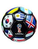 FIFA Official Russia 2018 World Cup BALL, Official Licensed Size #4 (Black)