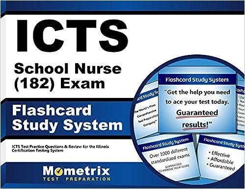 ICTS School Nurse (182) Exam Flashcard Study System: ICTS Test ...