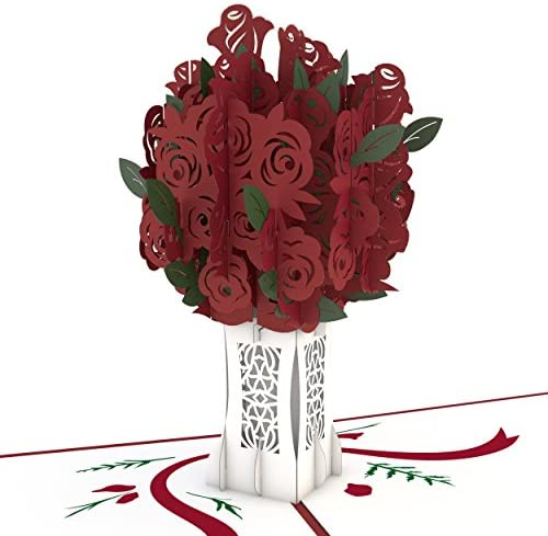 Beautiful 3D card flower vase I/'m sorry and much more. Thank you Great for Birthdays Get well soon