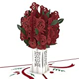 Kyпить Lovepop Rose Bouquet Pop Up Card на Amazon.com