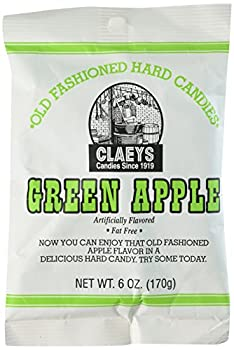 Claey's Green Apple Hard Candy (2 Bags)