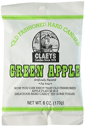 (Claey's Green Apple Hard Candy (2 Bags) )