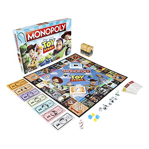 51qXxdRSLNL - Monopoly Toy Story Board Game Family and Kids Ages 8+