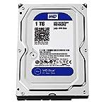 WD Blue 1TB  Desktop Hard Disk Drive – RPM SATA 6 Gb/s 64MB Cache 3.5 Inch  – WD10EZRZ 5400