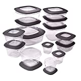 Product review for Rubbermaid Rubbermaid Premier Food Storage Containers, 28-Piece Set, Grey