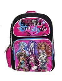 Full Size Stitched Together Monster High Backpack - Monster High Bookbag for ...