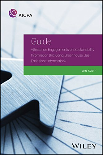 Greenhouse Gas - Attestation Engagements on Sustainability Information (Including Greenhouse Gas Emissions Information) (AICPA)