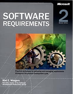 Software requirements 2nd (second) edition text only: karl e.