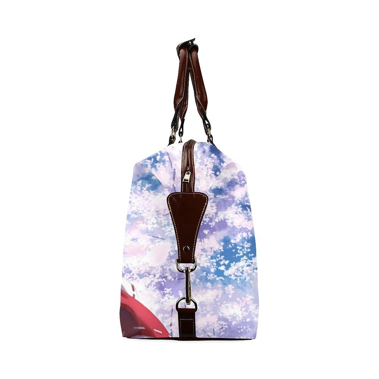Anime Girl Custom Waterproof Fabric Two-sided Printing Flight Bag