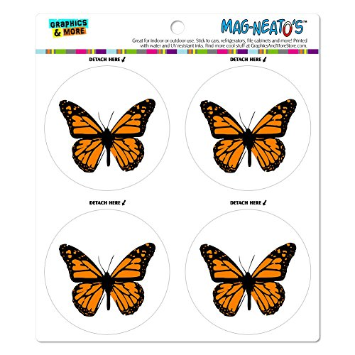 Monarch Butterfly MAG NEATOS Automotive Refrigerator