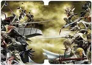 Cubierta de cuero y caja de la PC funda / soporte para funda de Apple iPad Mini 1,2,3 funda Con Magnetic reposo automático Función de despertador DIY por Final Fantasy P0A0Rc4X4Mx