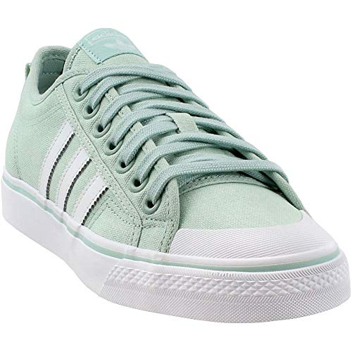 (adidas Womens Nizza Casual Shoes Green 6.5 )