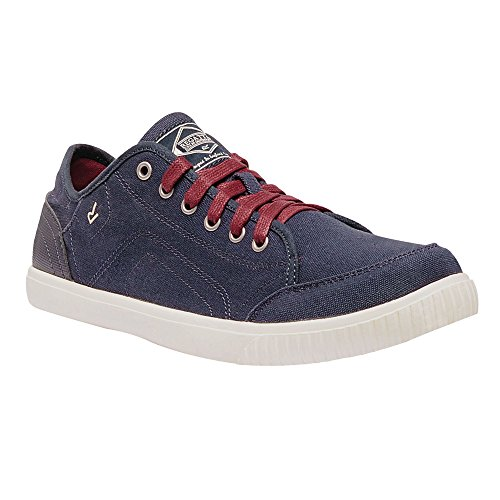 Regatta Mens Turnpike Lite Lightweight Slip Resistant Canvas Shoes Navy/DelhiRd