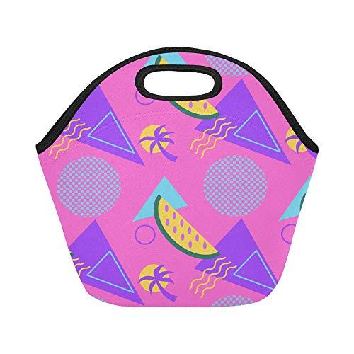 Insulated Neoprene Lunch Bag Summer Fashion Cute Fruit