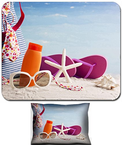 Liili Mouse Wrist Rest and Small Mousepad Set, 2pc Wrist Support beach bag and beach accessories 29285730