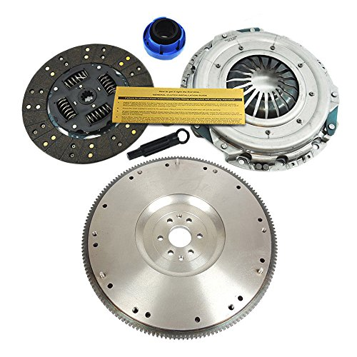 Pickup Clutch Flywheel - EFT POWER HD CLUTCH KIT & FLYWHEEL for 1997-2008 FORD F-150 PICKUP 4.2L 6CYL
