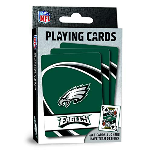 MasterPieces NFL Philadelphia Eagles Playing Cards Now $2.00 (Was $5.99)