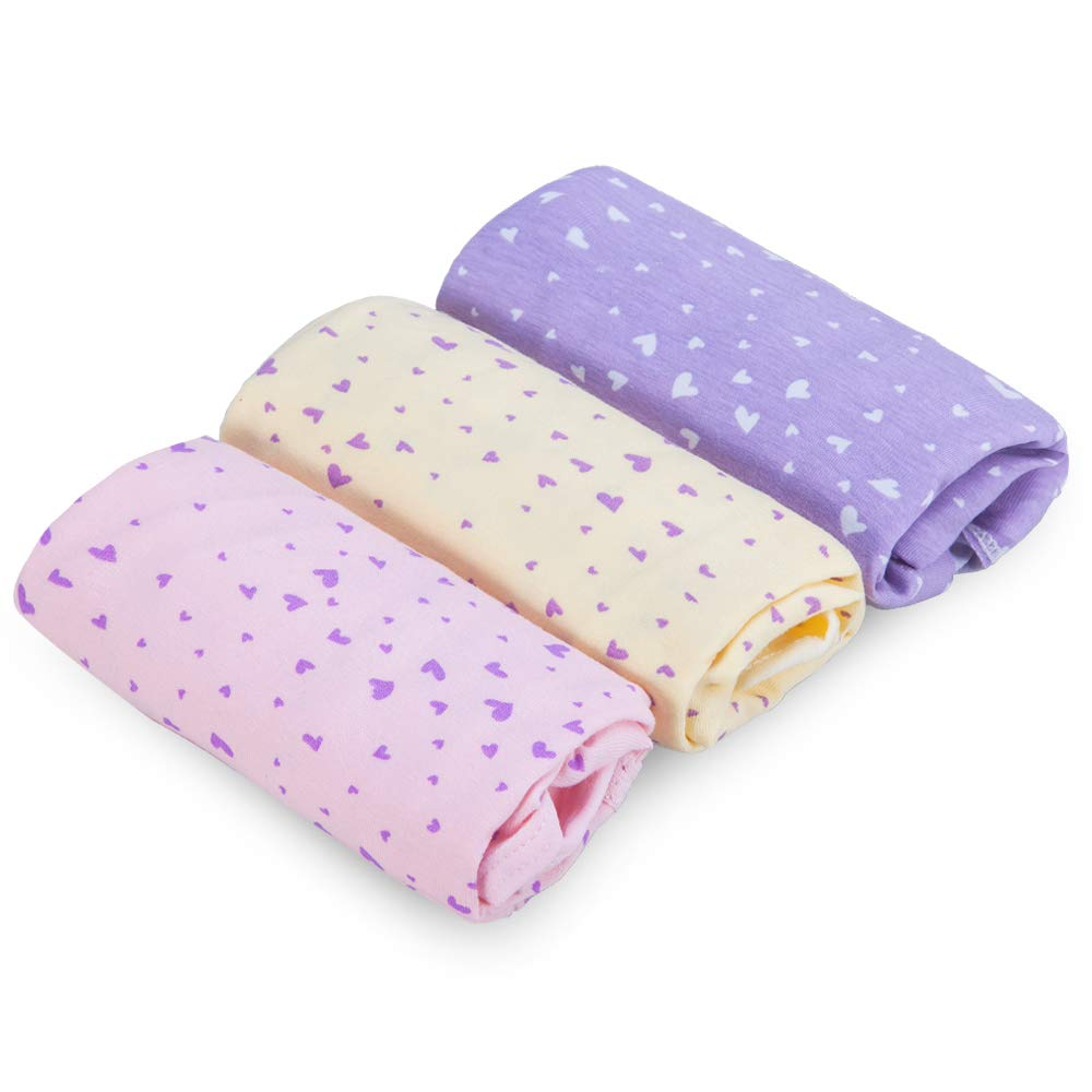 QUEEN ROSE 3er-Set Damen Umstandsmode/Umstandsunterwäsche/Umstandsunterhose, aus Baumwolle, Taillenumfang-Verstellbar